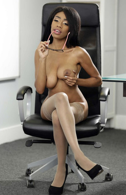 My Naked Boss, Brittney talking on a..