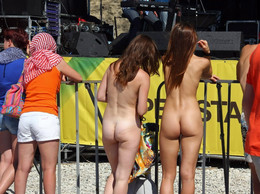 The big public compilations of nudist..